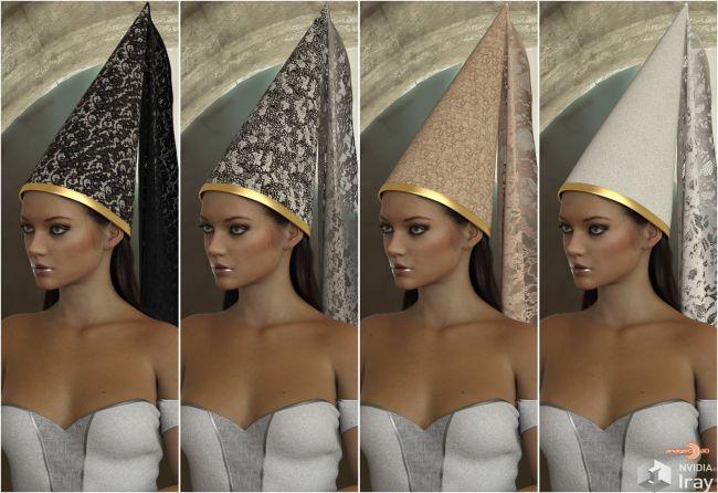 VERSUS - dForce Medieval Headpieces for Genesis 8 Female(s)