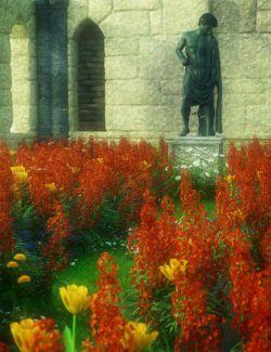 Garden Flowers- Wall Flowers