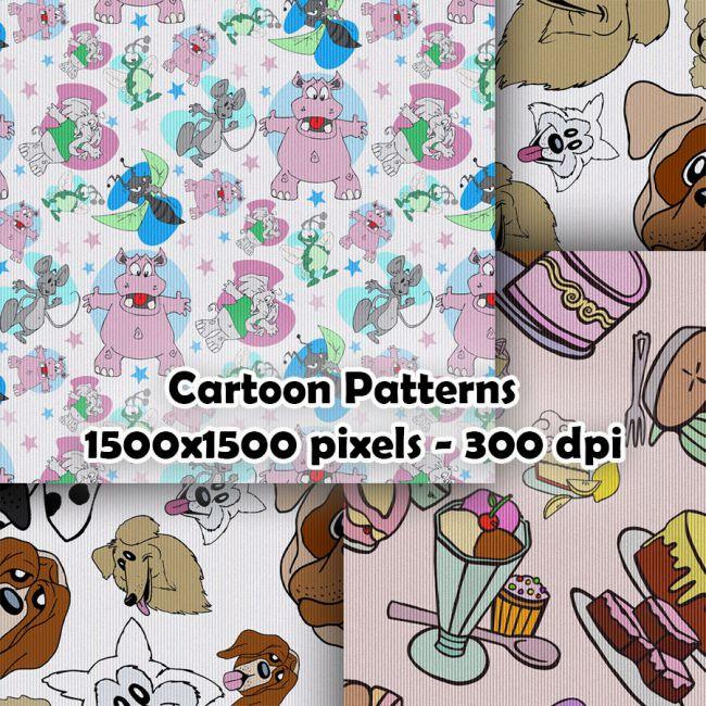 Seamless Cartoon Patterns