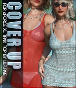 Cover Up for XL Tank Top G8F