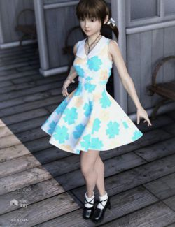 dForce Fresh Summer Outfit for Genesis8 Female(s)