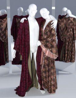 dForce SsR Art Drape Robe for Genesis 3 and 8