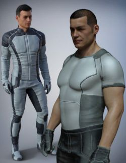 Space Uniform for Genesis 8 Male(s)