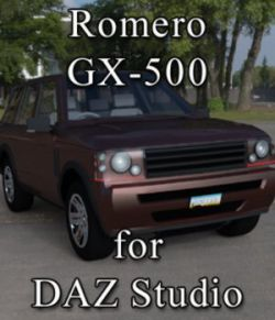 Romero GX-500 for DAZ Studio