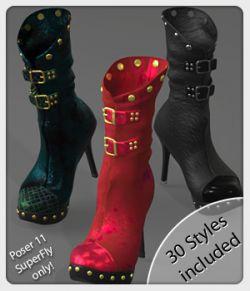 PBR Fancy SuperFly Styles for LF Ruffian Boots
