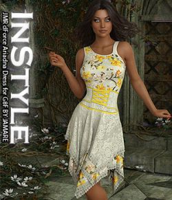 InStyle- JMR dForce Ariadna Dress for G8F