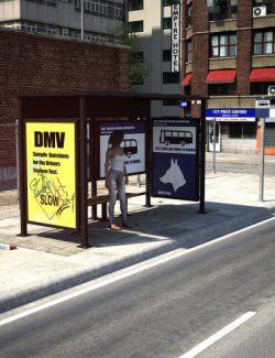 Urban Bus Stop