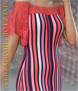 Stylz For dForce- Shimmy Dress