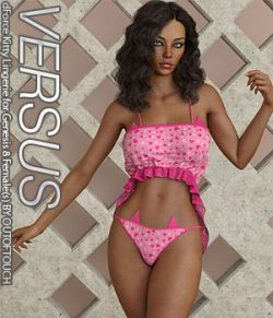 VERSUS- dForce Kitty Lingerie for Genesis 8 Females
