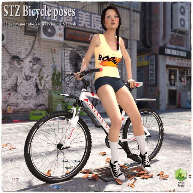 STZ Bicycle poses