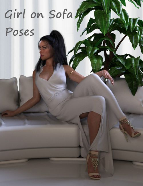 Girl on Sofa - Poses