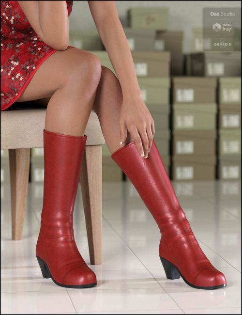 Amazing Morphing Boots for Genesis 8 Female(s)