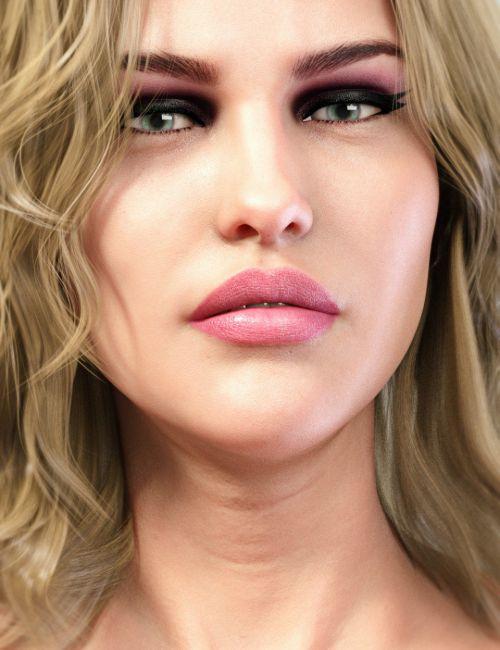 LIE Make-Up Set for Genesis 8 Female