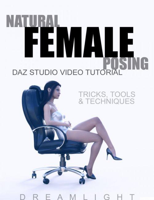 Natural Female Posing - DAZ Studio Video Tutorial
