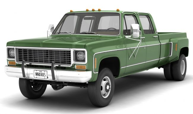 GENERIC 4WD DUALLY PICKUP TRUCK 9 - EXTENDED LICENSE