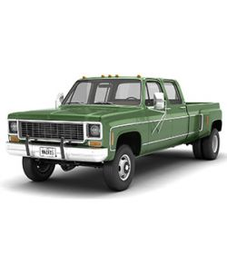 GENERIC 4WD DUALLY PICKUP TRUCK 9- EXTENDED LICENSE
