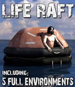 Life Raft for Poser and DS