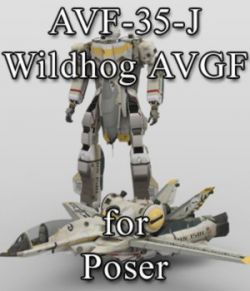 AVF-35-J Wildhog AVGF for Poser