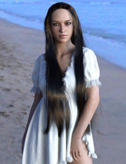 MRL dForce Long Hair for Genesis 8 Female(s)