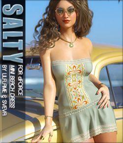 Salty for dForce Mini Beach Dress G8F