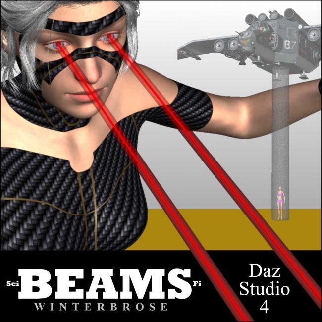 Make It Yourself Sci-Fi BEAMS for Daz Studio 4