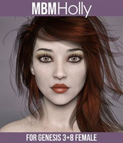 MbM Holly for Genesis 3 and 8 Females