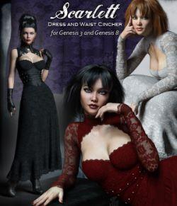 Scarlett dForce Dress and Cincher