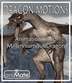 Dragon Motions for Millennium Sub-Dragon