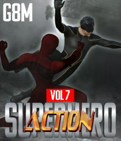 SuperHero Action for G8M Volume 7