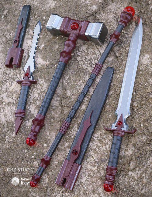 Bloodstone Weapons