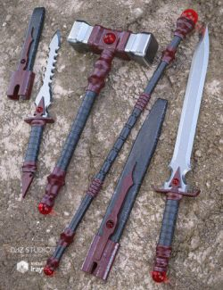 Bloodstone Weapons