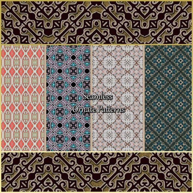 Seamless Ornate Patterns