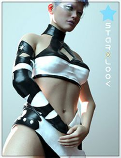 StarXlook Scifi Outfit for Genesis 8 Female(s)