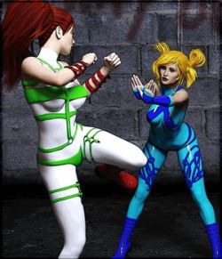 Fighting Streets Poses for G8F