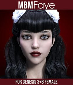 MbM Faye for Genesis 3 & 8 Female