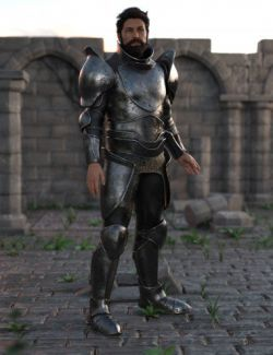 Battleworn Armor for Genesis 8 Male