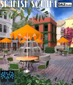 Spanish Square for Daz Studio