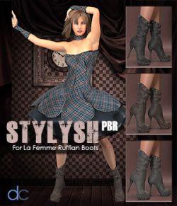 Stylysh PBR for La Femme Ruffian Boots