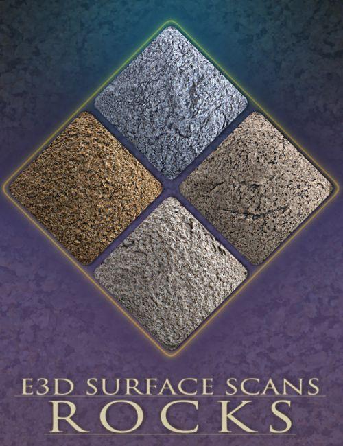 E3D Surface Scans - Rock Textures and Merchant Resource