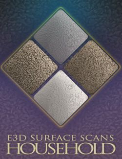 E3D Surface Scans- Household Textures and Merchant Resource