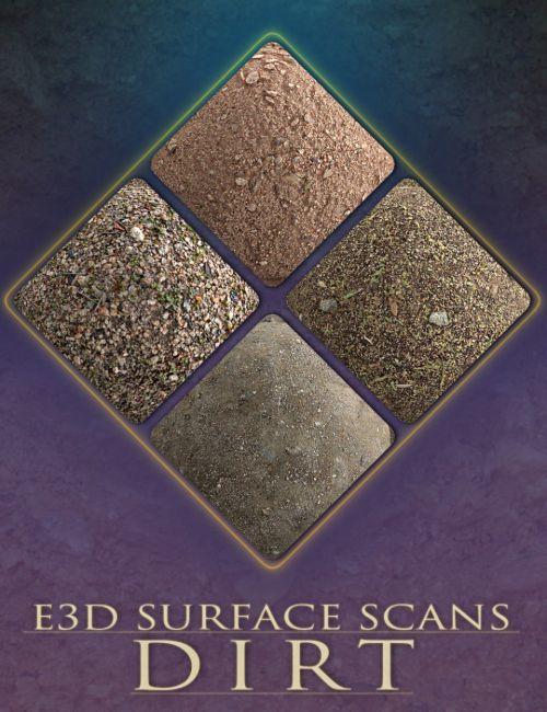 E3D Surface Scans - Dirt Textures and Merchant Resource