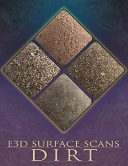 E3D Surface Scans - Dirt Textures and Merchant Resource