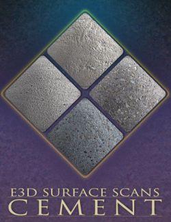 E3D Surface Scans - Cement Textures and Merchant Resource