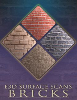 E3D Surface Scans- Brick Textures and Merchant Resource