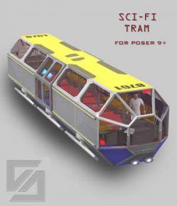 Sci-Fi Tram