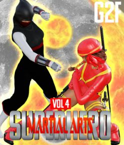 SuperHero Martial Arts for G2F Volume 4