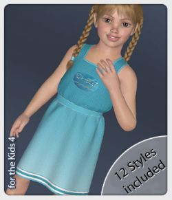 Linea Dress and 12 Styles for the Kids 4