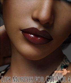 Lips Morphs for G8F Vol 4