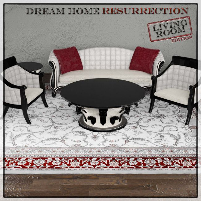 Dream Home Resurrection Living Room DS Iray