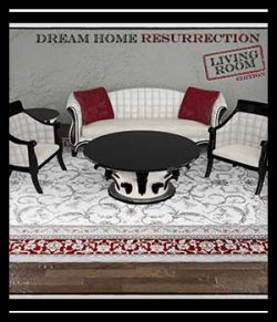 Dream Home Resurrection Living Room DS Iray